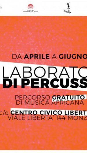 dal 10 aprile: LABORATORIO di PERCUSSIONI a Liberthub