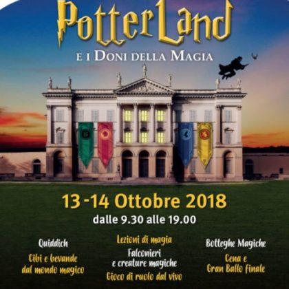 13 e 14 ottobre: POTTERLAND a Villa Tittoni!