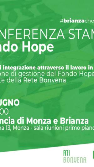 Conferenza stampa del FONDO HOPE: 5 anni di integrazione attraverso il lavoro in Brianza