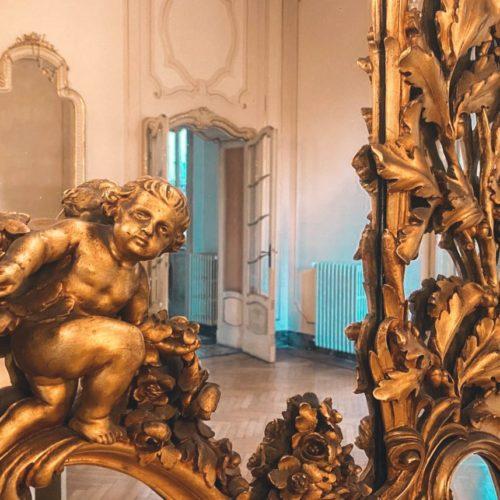 villa longoni desio specchio