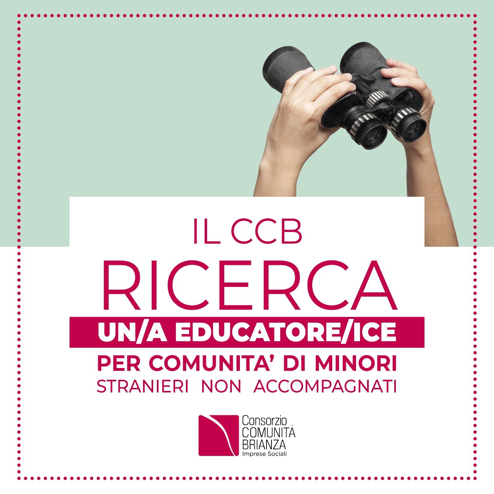Il Consorzio ricerca educatore/ice per comunità di Minori Stranieri non accompagnati