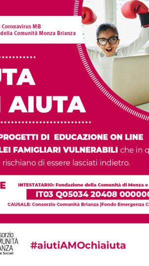 FONDO EMERGENZA CORONAVIRUS MB: aiutaci ad aiutare!