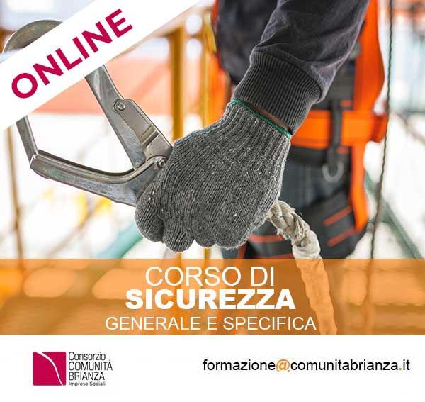 CORSI ON-LINE DI SICUREZZA SUL LAVORO