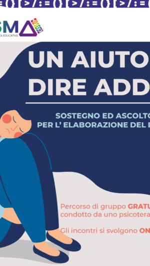PERCORSO GRATUITO PER L'ELABORAZIONE DEL LUTTO