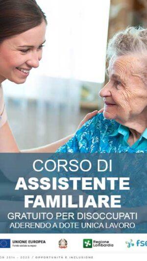 CORSI PER DISOCCUPATI: dal 6 ottobre il corso per diventare Assistente Famigliare